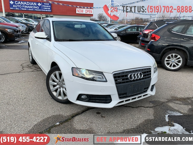 2012 Audi A4 2.0T | LEATHER | ROOF | HEATED SEATS Sedan