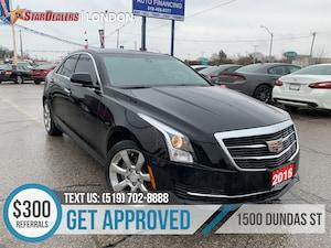 2016 Cadillac ATS 2.0L Turbo Luxury | NAV | LEATHER | ROOF | AWD
