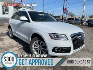 2015 Audi Q5 2.0T Progressiv | NAV | LEATHER | PANO ROOF | CAM