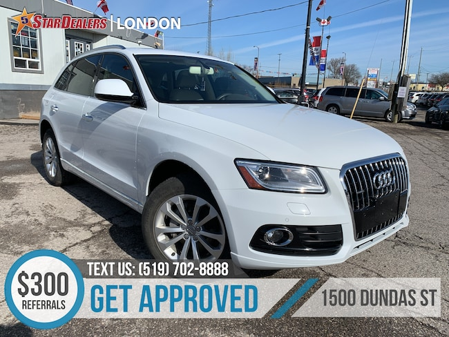 2015 Audi Q5 2.0T Progressiv | NAV | LEATHER | PANO ROOF | CAM SUV