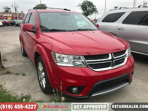 2013 Dodge Journey R/T | AWD | 7PASS | NAV | ROOF