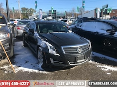 2013 CADILLAC ATS 3.6L Luxury | NAV | LEATHER | ROOF | AWD Sedan