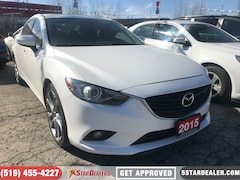 2015 Mazda Mazda6 GT | NAV | LEATHER | ROOF | HEATED SEATS Sedan