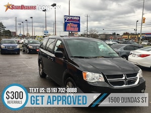 2018 Dodge Grand Caravan Crew | 1OWNER | LEATHER | CAM | REAR AIR