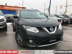 2016 Nissan Rogue SL Premium | AWD | LEATHER | NAV | ROOF SUV