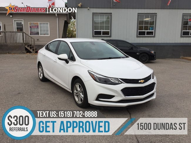 2017 Chevrolet Cruze LT TURBO | CAM | BLUETOOTH | ONE OWNER Sedan