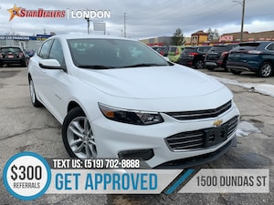 2018 Chevrolet Malibu LT | 1OWNER | CAM | POWER SEATS
