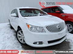 2012 Buick LaCrosse Convenience | LEATHER | CAM Sedan