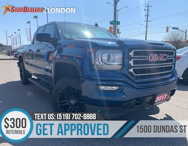 2017 GMC Sierra 1500 SLE | ELEVATION | CAM | V8 | 1OWNER Truck Double Cab