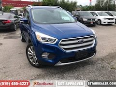 2017 Ford Escape Titanium | 1 OWNER | NAV | LEATHER | PANO ROOF SUV