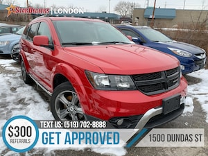 2018 Dodge Journey Crossroad | 1OWNER | LEATHER | 7PASS | AWD