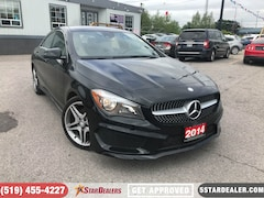 2014 Mercedes-Benz CLA  | LEATHER | ROOF | NAV | AWD Coupe