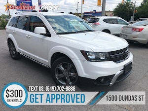 2018 Dodge Journey Crossroad | AWD | LEATHER | ONE OWNER