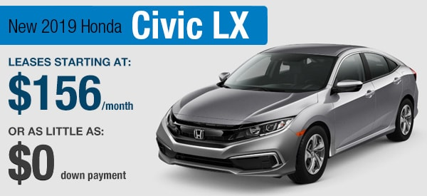 Honda Civic LX Lease it Your Way