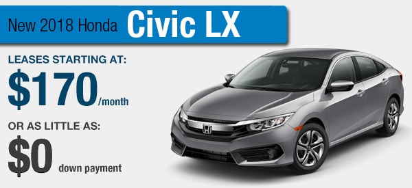 Honda Civic Lease it Your Way