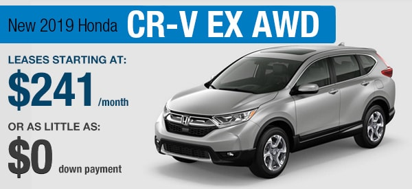Honda CR-V EX Lease it Your Way