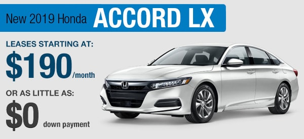 Honda Accord LX Lease it Your  Way