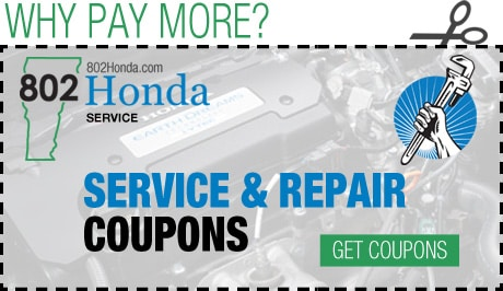Honda Service, Maintenance and Repairs | 802 Honda, Vermont