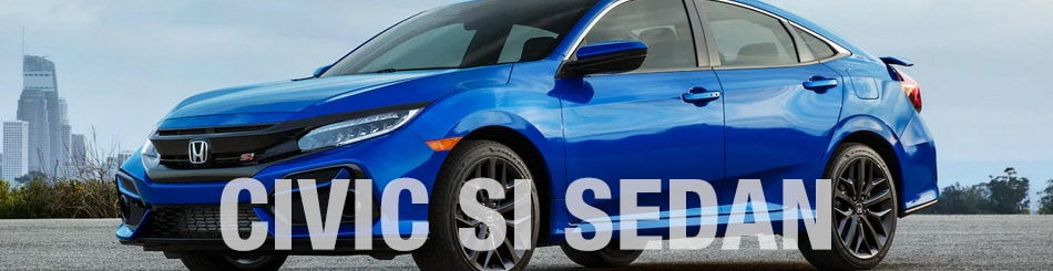 Honda Civic Si Sedan  Deals