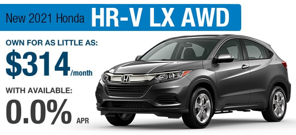 Honda HR-V LX Lease it Your Way