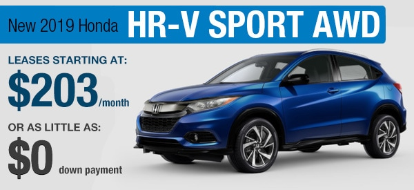 Honda HR-V Sport  Lease it  Your Way