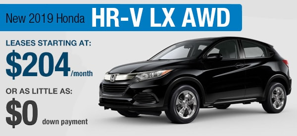 Honda HR-V Lease it Your  Way