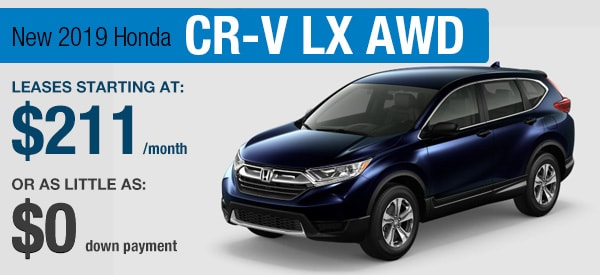 Honda CR-V Lease it Your  Way