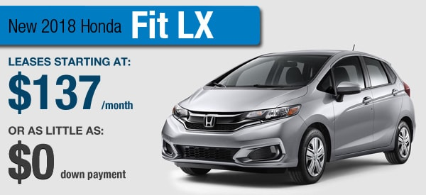 Honda Fit Lease it Your Way