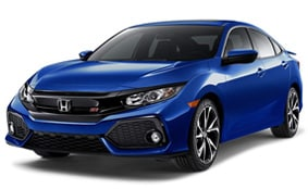 2018 Honda Civic Si  Sedan Lease Deal