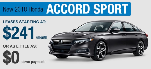 Honda Accord Sport Lease it Your  Way
