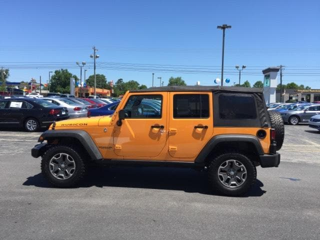 2013 Jeep Wrangler Unlimited 4WD 4dr Rubicon Sport Utility