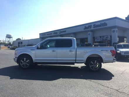 2016 Ford F-150 4WD Supercrew 157 Lariat Crew Cab Pickup