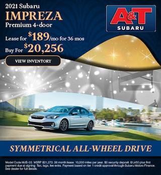 2021 Subaru Impreza Premium 4-door
