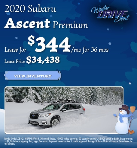 January 2020 Subaru Ascent Premium