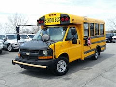 2013 Chevrolet Express Cutaway SCHOOL BUS C/W POWER WHEEL CHAIR LIFT Truck