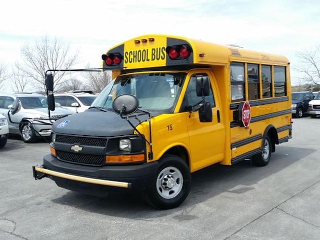 2013 Chevrolet Express SCHOOL BUS C/W POWER WHEEL CHAIR LIFT Truck