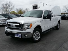 2014 Ford F-150 XLT-SUPER CAB-4X4-8' BOX W/UTILITY CAP-INVERTER Truck SuperCab