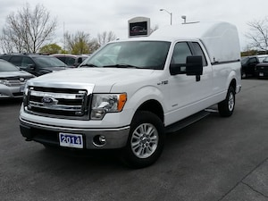 2014 Ford F-150 XLT-SUPER CAB-4X4-8' BOX W/UTILITY CAP-INVERTER