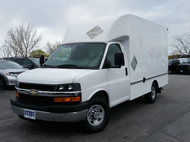2012 Chevrolet Express 3500 12' CUBE/BOX TRUCK-C/W ATTIC Truck