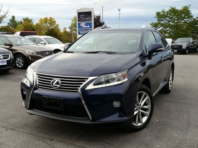 2015 LEXUS RX 350 PREMIUM-NAVIGATION-HEATED AND COOLED SEATS SUV