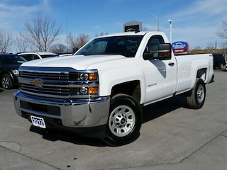 2017 Chevrolet SILVERADO 3500HD REG CAB-4X4--8' BOX Truck Regular Cab