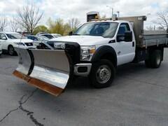 2011 Ford F-550 Chassis REG CAB--4X4--DIESEL-ALUMINUM DUMP Truck Regular Cab