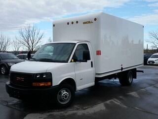 2018 GMC Savana 3500 16' CUBE/BOX/STAKE TRUCK-C/W RAMP Truck