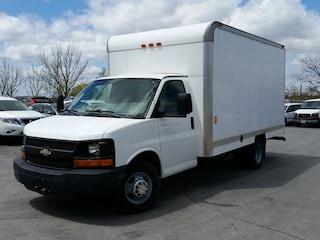 2009 Chevrolet Express Cutaway 14' CUBE/BOX/STAKE TRUCK--C/W BOX HEATER Truck