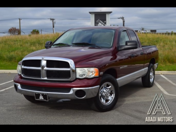 2003 Dodge Ram 2500 ST Quad Cab Short Bed 2WD Truck Regular Cab