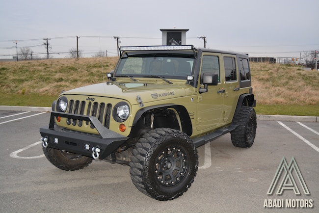 2013 Jeep Wrangler Unlimited, Lifted, 4wd, 35in Wheels SUV