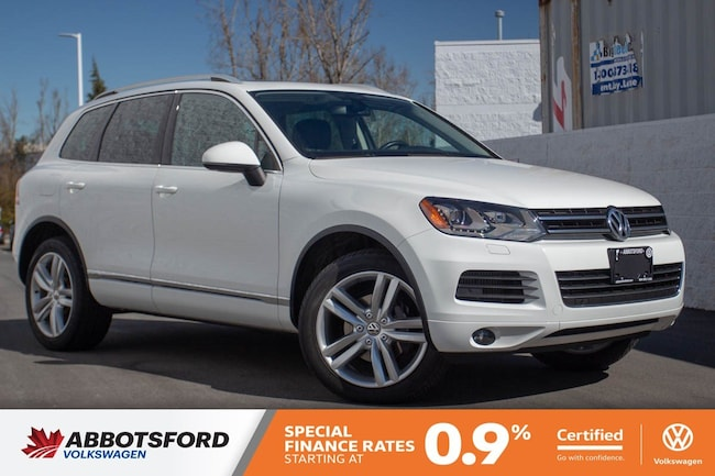 2012 Volkswagen Touareg Execline TDI LOCAL, ONE OWNER, FULLY LOADED! SUV