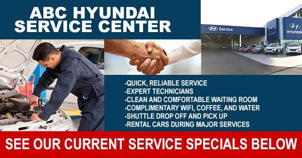 Hyundai service specials at our Las Vegas dealer serving Clark County near Henderson
