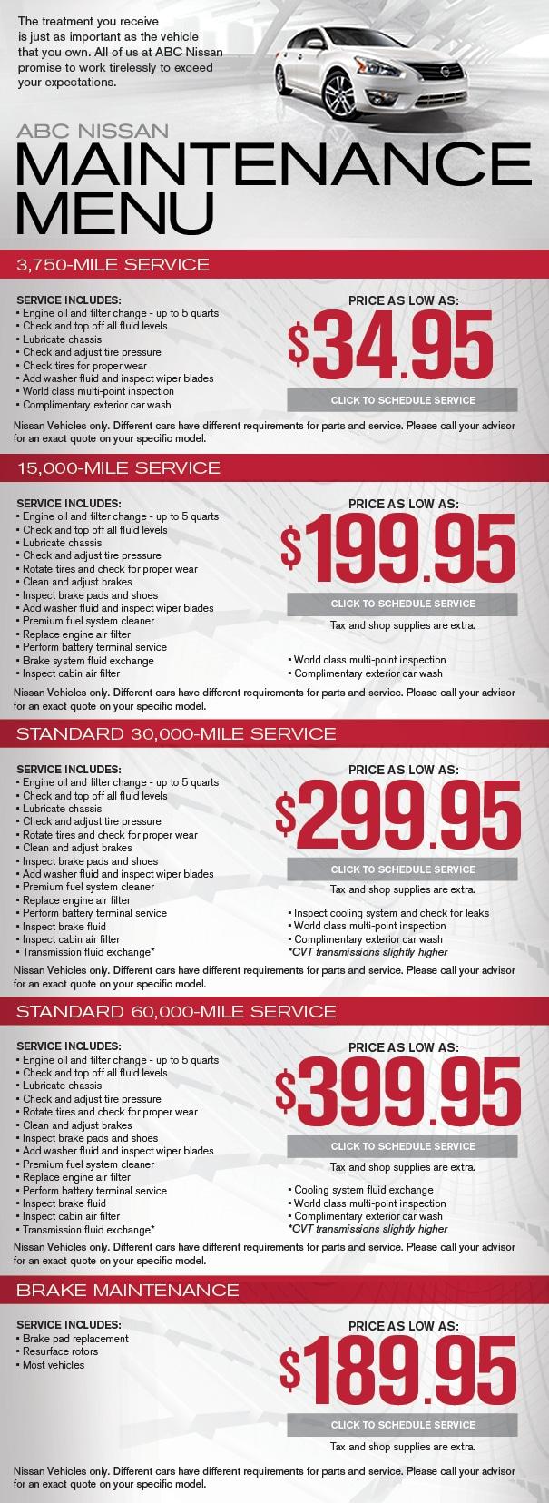 Nissan Car Service Amp Repairs Phoenix Maintenance Guide