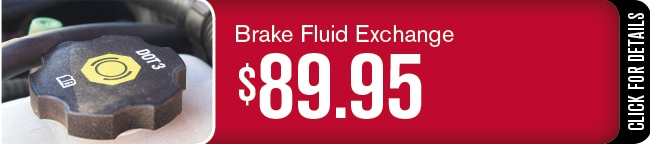 Automotive Service Brake Fluid Exchange Special, Phoenix, AZ